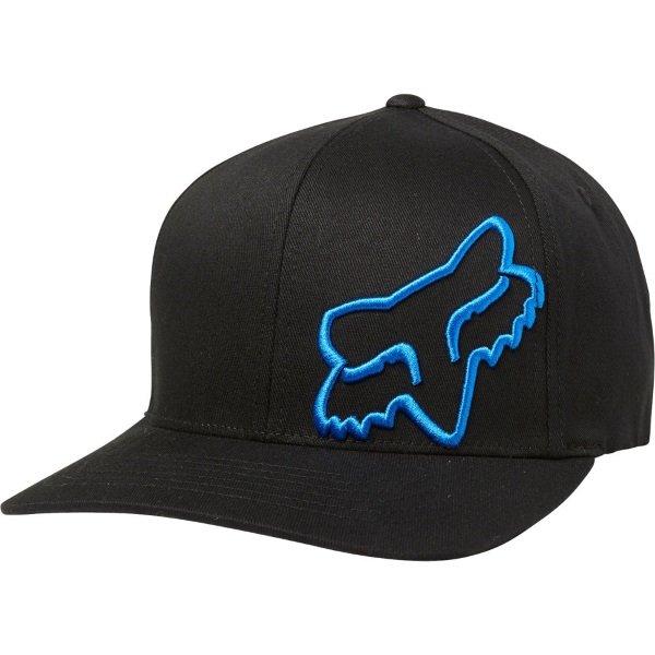 Fox Flex 45 Flexfit Hat Black Blue Unisex - S/M