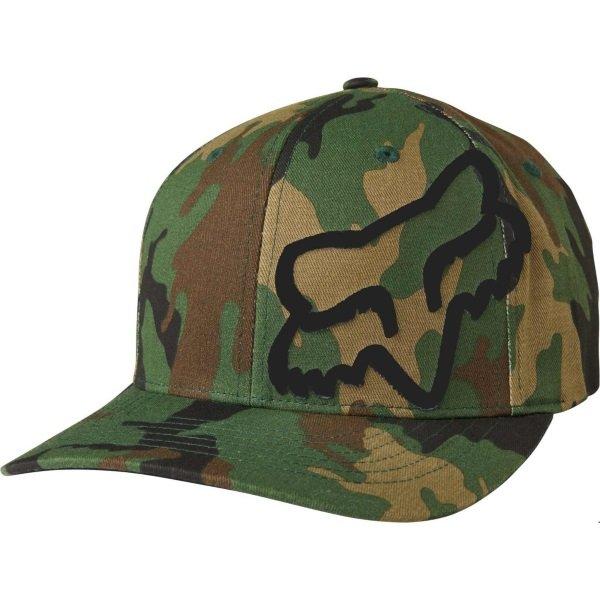 Fox Flex 45 Flexfit Hat Camo Unisex - S/M