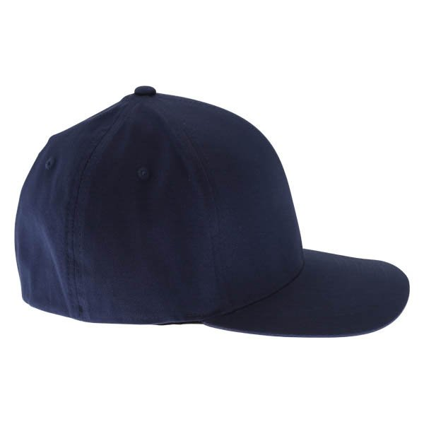 Fox Flex 45 Flexfit Navy Yellow Baseball Cap Right Side