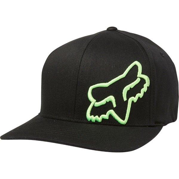 Fox Flex 45 Flexfit Hat Black Green Unisex - S/M