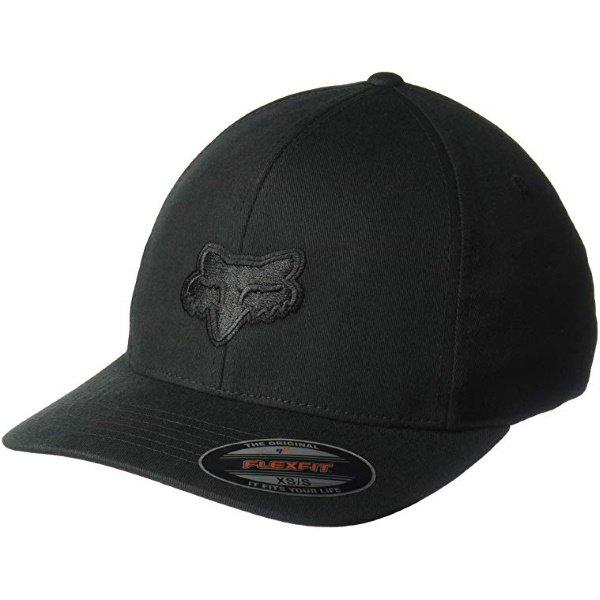 Fox Legacy Flexfit Hat Black Black Unisex - S/M