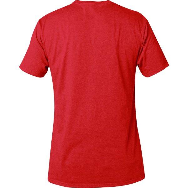 Fox Dark Red Legacy Fox Head T-Shirt Back