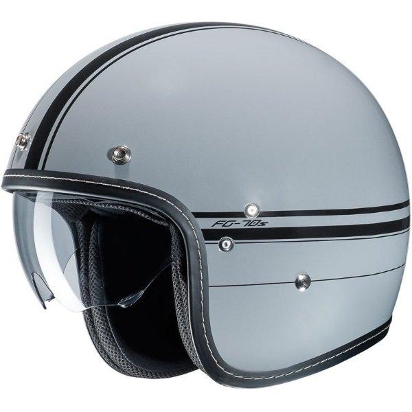 FG-70S Ladon Helmet Grey Black