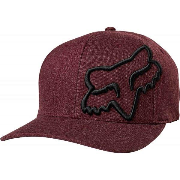 Fox Clouded Red Flexfit Hat Front