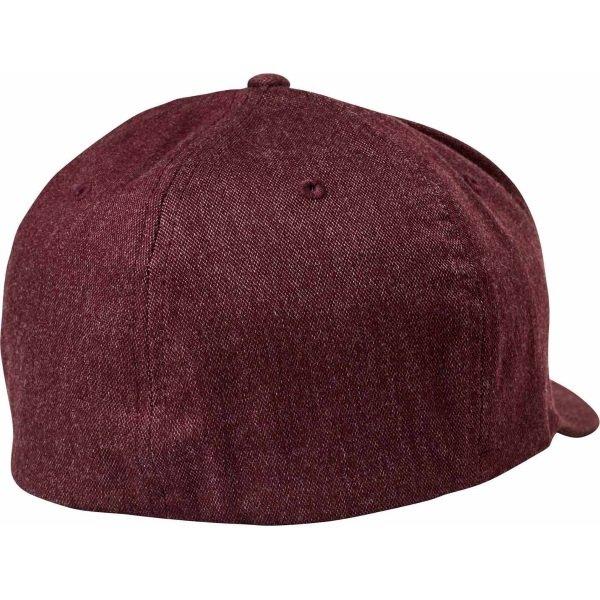 Fox Clouded Red Flexfit Hat Back