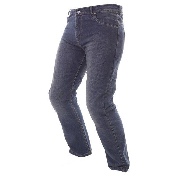 BKS BKS001 Lion Blue Denim Motorcycle Jeans Riding crouch