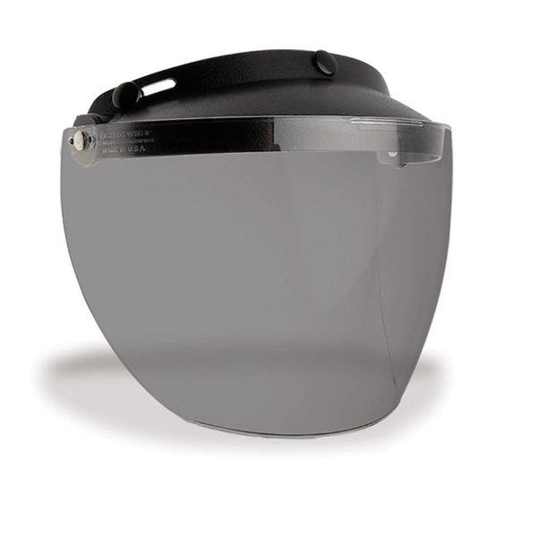Bell Custom 500 Mxl 3-Snap Flip Smoke Visor