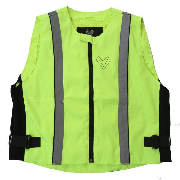 VIZ017 Hd Reflective Vest Flo Yellow Hi-Viz Clothing