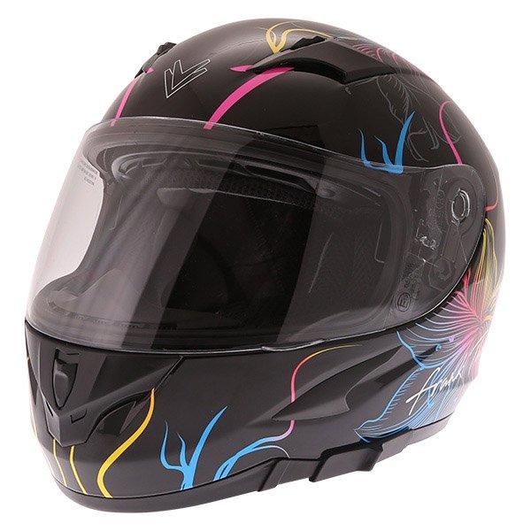 FT36SV Bloom Ladies Helmet Black Multi Ladies Helmets