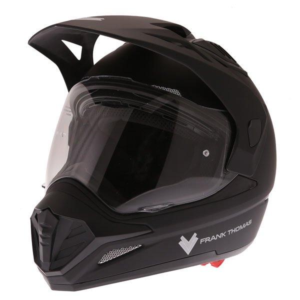 FTAS001 Adventure Sport Helmet Matt Black Adventure & Touring Motorcycle Helmets