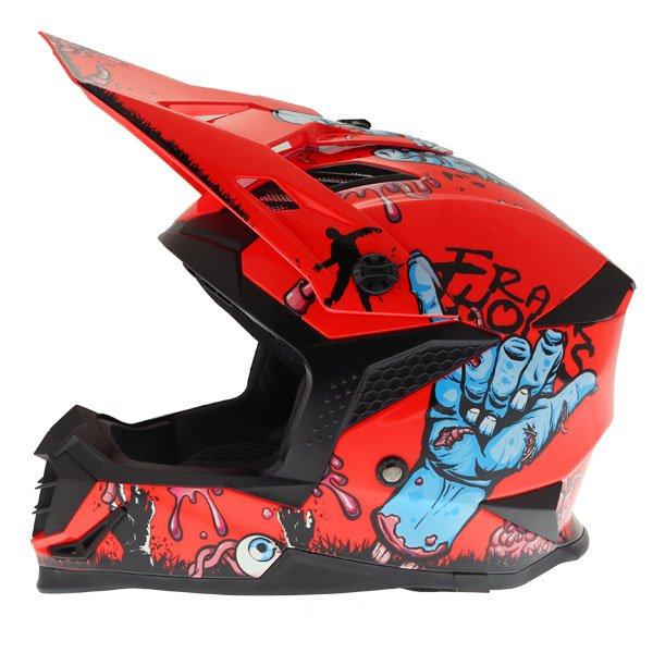 SC16 MX Zombie Helmet Orange Motorcycle Helmets