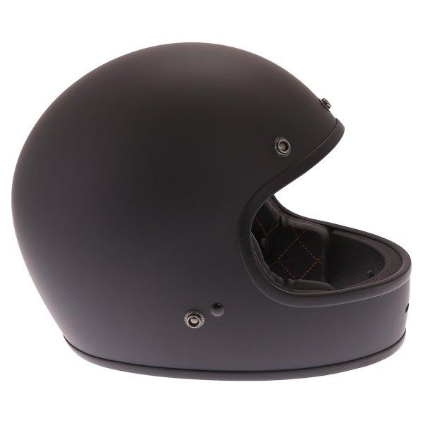 Force Blitzfibre Matt Black Full Face Motorcycle Helmet Right Side