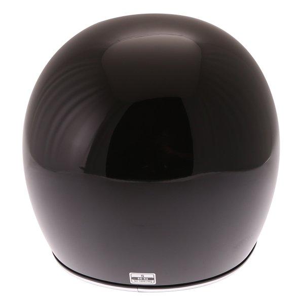 Force Blitzfibre Black Full Face Motorcycle Helmet Back