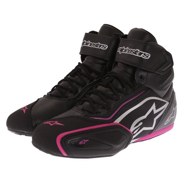 Stella Faster 2 WP Shoes Black Fuchsia Alpinestars Ladies