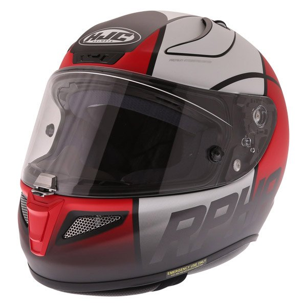 Rpha 11 Quintain Helmet Red