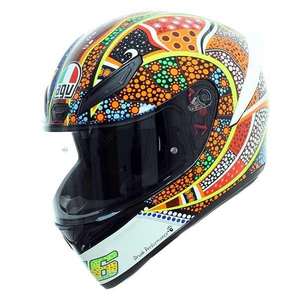 AGV K1 Dreamtime Full Face Motorcycle Helmet Front Left