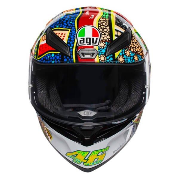 AGV K1 Dreamtime Full Face Motorcycle Helmet Front