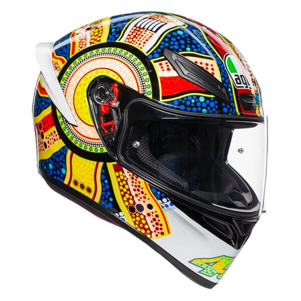 AGV K1 Dreamtime Full Face Motorcycle Helmet Front Right