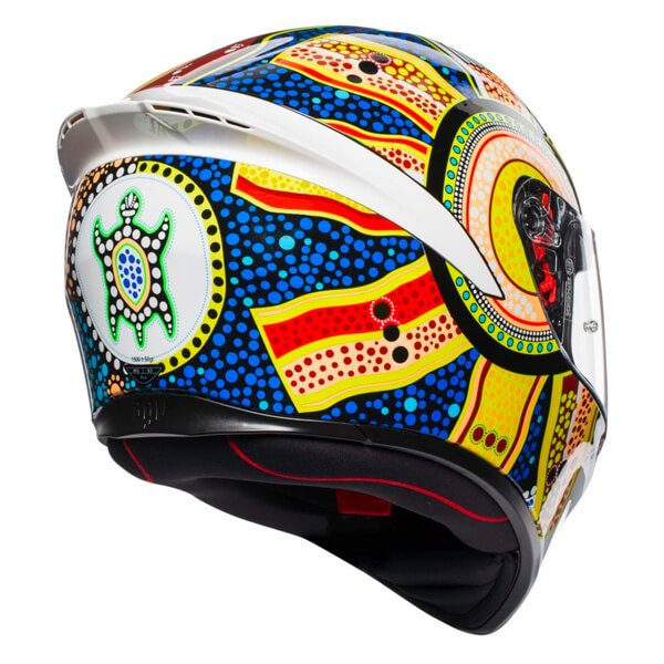 AGV K1 Dreamtime Full Face Motorcycle Helmet Back Right