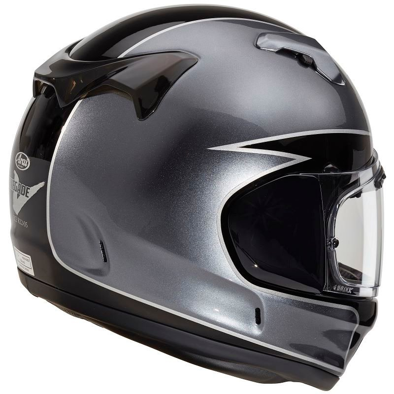 Arai Renegade-V Fury Helmet Silver Size: M