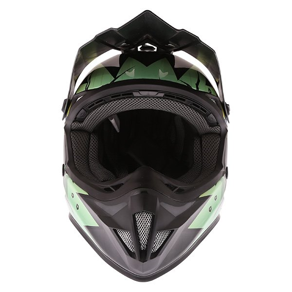 Frank Thomas FT15Y Kids Gorilla MX Helmet Front