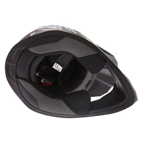 Frank Thomas FT15Y Kids Gorilla MX Helmet Inside