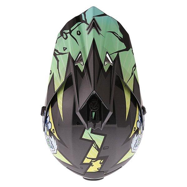Frank Thomas FT15Y Kids Gorilla MX Helmet Top