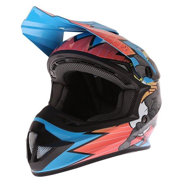 FT15Y Kids MX Helmet Ninja Kids Motocross Helmets