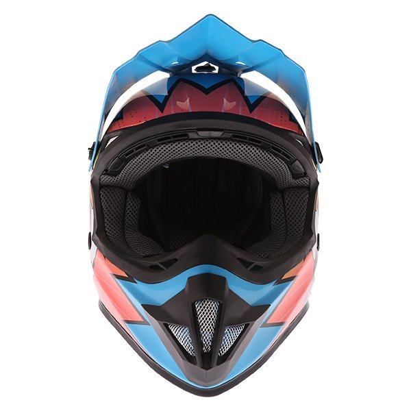 Frank Thomas FT15Y Kids Ninja MX Helmet Front