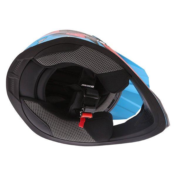 Frank Thomas FT15Y Kids Ninja MX Helmet Inside