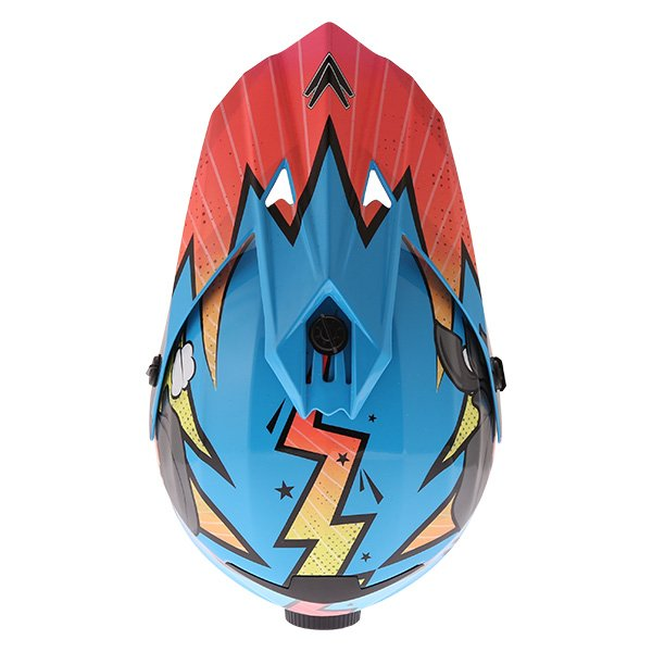 Frank Thomas FT15Y Kids Ninja MX Helmet Top