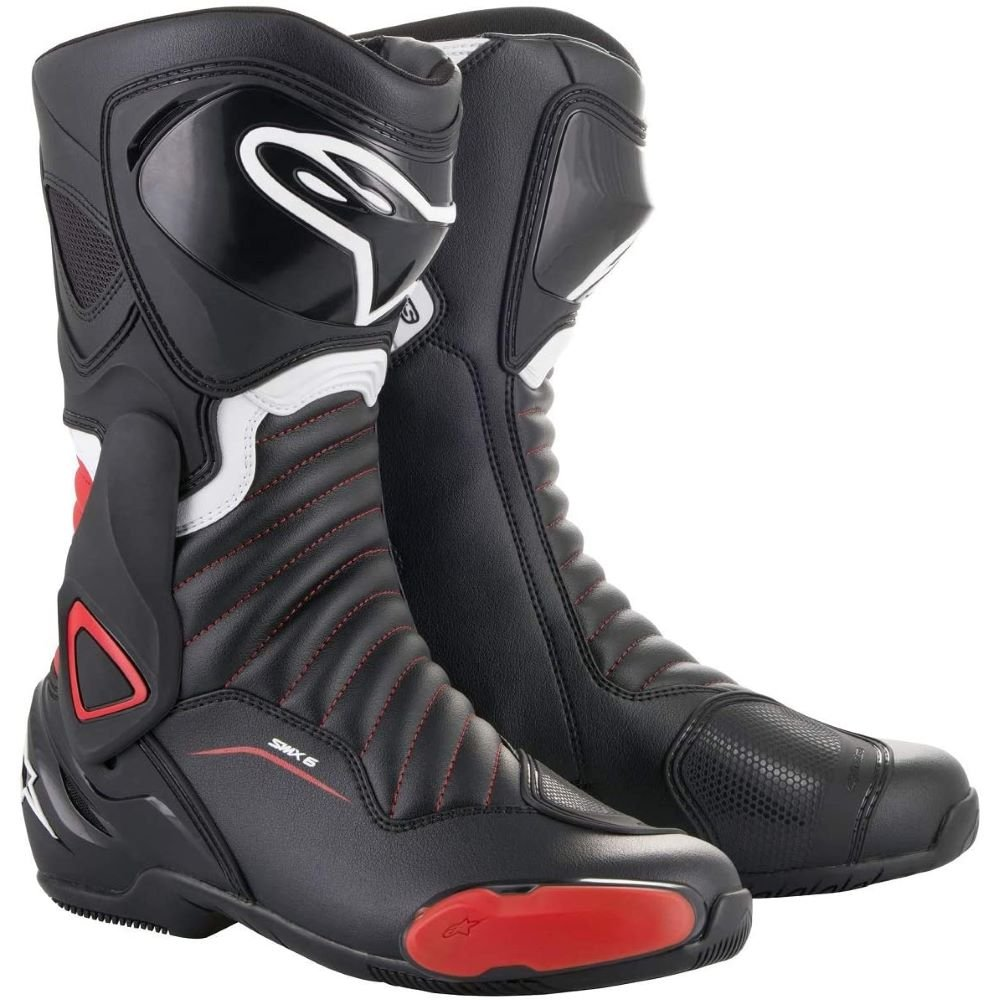 Alpinestars SMX-6 V2 Boots Black Red Size: UK  6