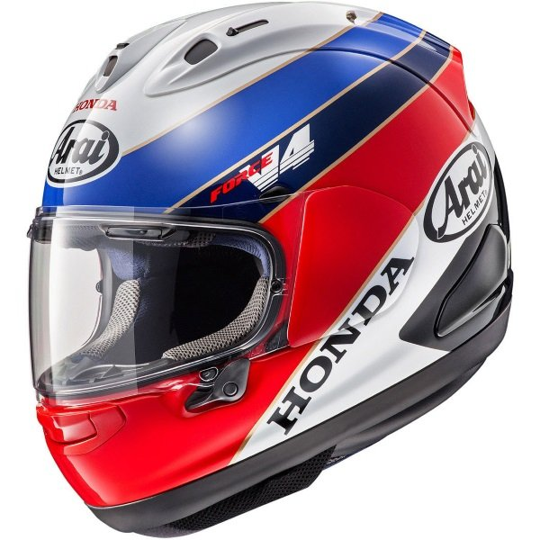 Arai RX-7V Honda RC30 Full Face Motorcycle Helmet Left Side