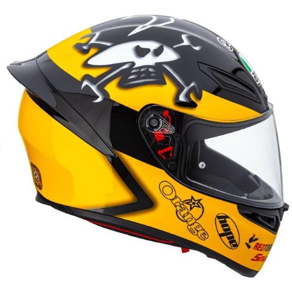 AGV K1 Guy Martin Full Face Motorcycle Helmet Right Side