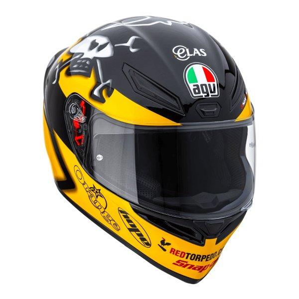 AGV K1 Guy Martin Full Face Motorcycle Helmet Front Right