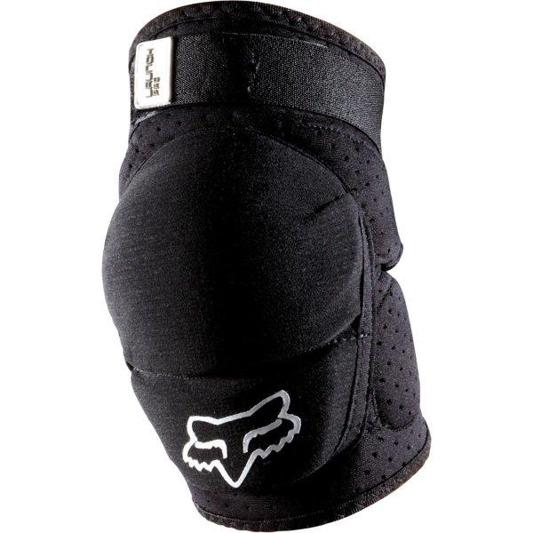 Fox Launch Pro Black MX Elbow Guard Front