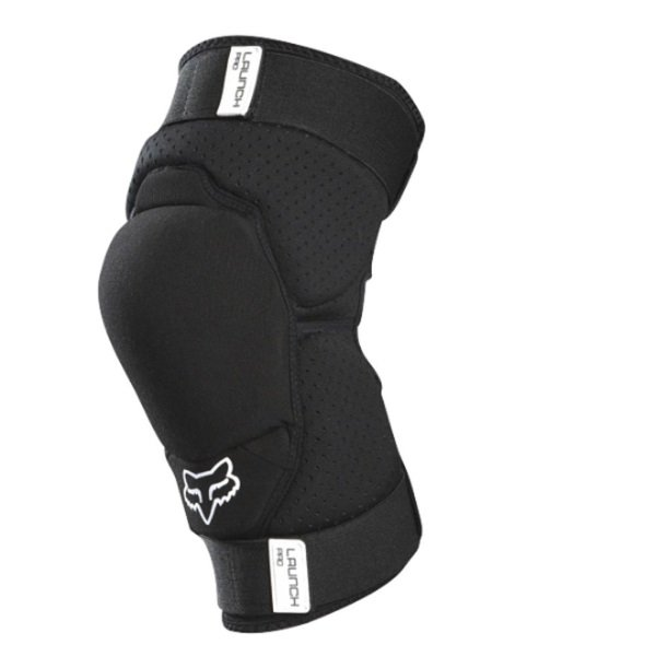 Fox Youth Launch Pro Black MX Knee Guard Front