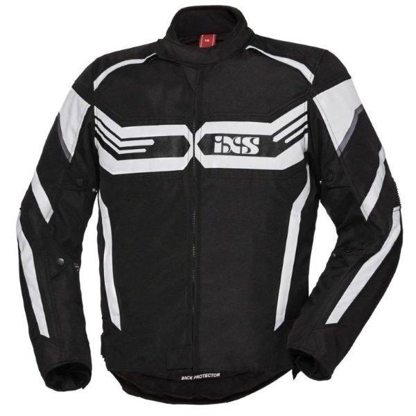 RS-400-ST Sport Jacket Black White