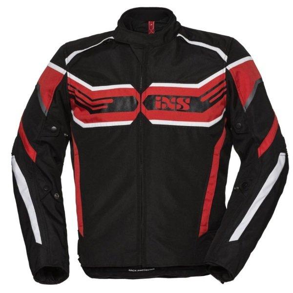 RS-400-ST Sport Jacket Black Red White