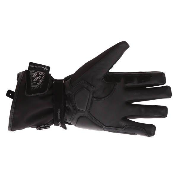 Frank Thomas FT-54 Black Waterproof Motorcycle Glove Palm