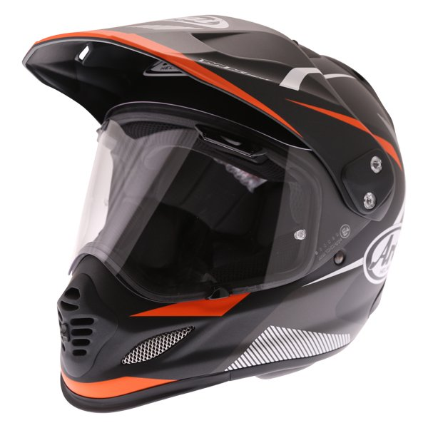 Arai Tour-X 4 Break Orange Adventure Motorcycle Helmet Front Left
