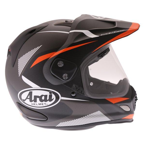 Arai Tour-X 4 Break Orange Adventure Motorcycle Helmet Right Side