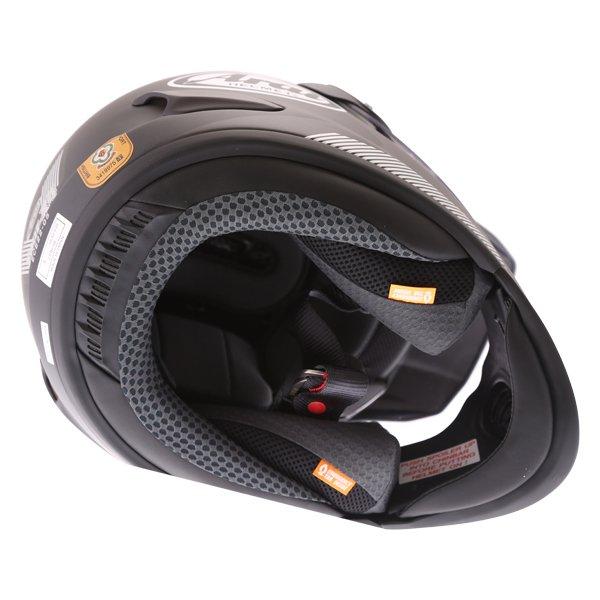Arai Tour-X 4 Break Orange Adventure Motorcycle Helmet Inside