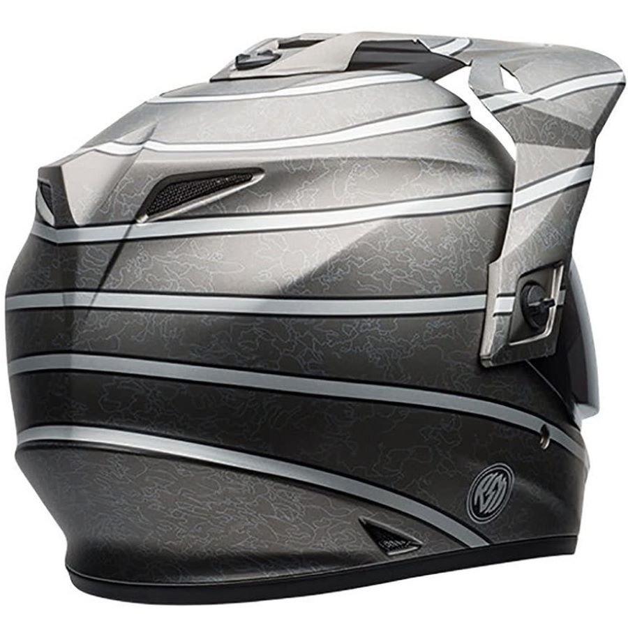 Bell MX-9 Adventure Helmet RSD Silver Size: S