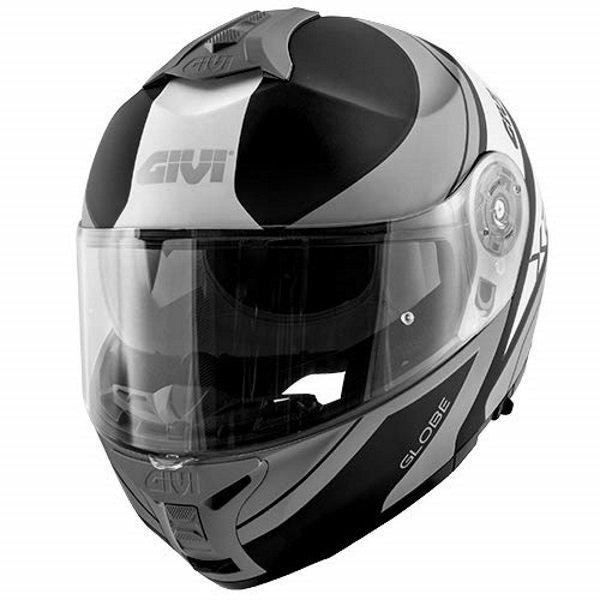 X21 Challenger Helmet Matt Black Titanium Givi Helmets