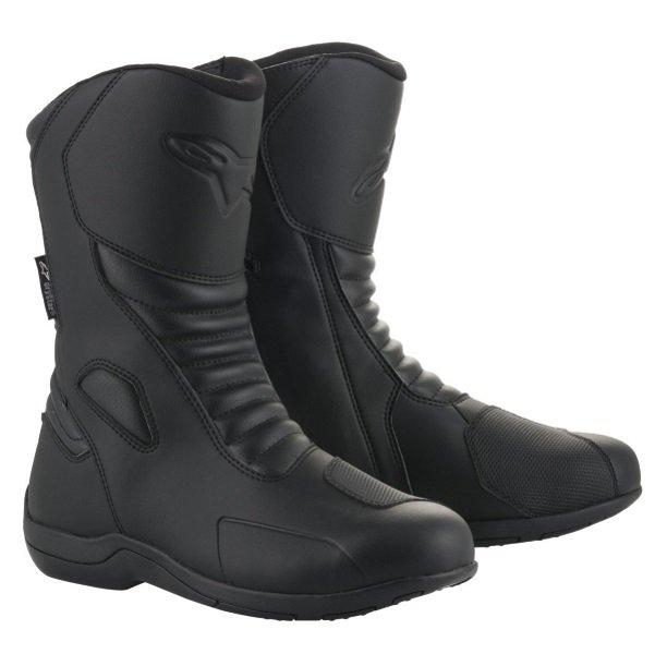 Alpinestars Origin Drystar Black Motorcycle Boots Pair