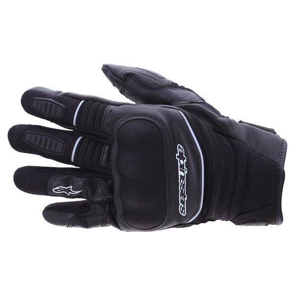 Alpinestars Crosser Drystar Air Black Motorcycle Gloves Back