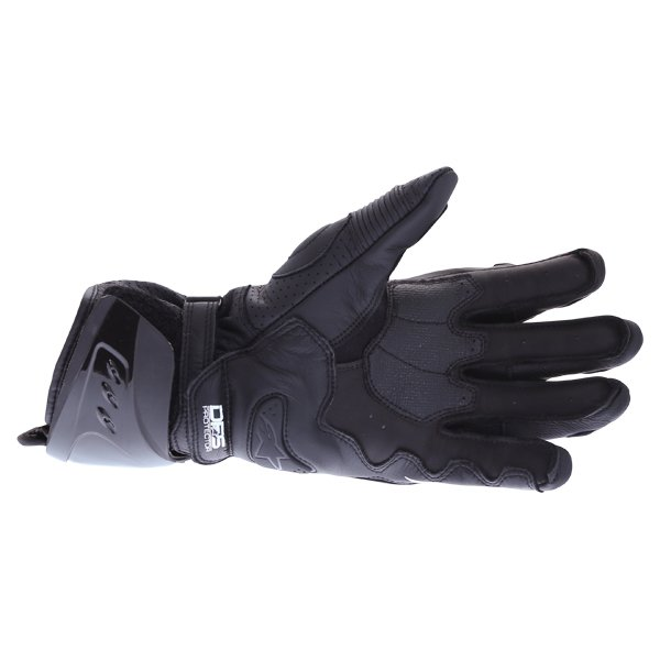 Alpinestars GP Pro R3 Black Motorcycle Gloves Palm