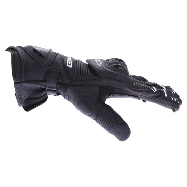 Alpinestars GP Pro R3 Black Motorcycle Gloves Thumb side