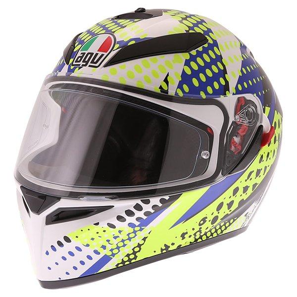 AGV K3 SV Pop Full Face Motorcycle Helmet Front Left